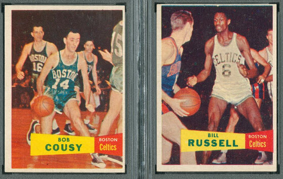 1957 58 Set Has Russell Cousy Rookies Broke New Ground