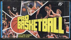 1976-77 Topps basketball unopened box