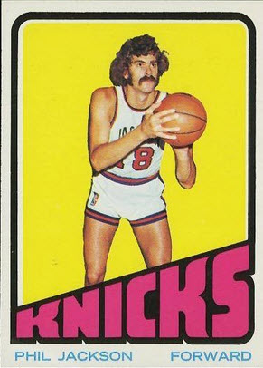 Phil Jackson rookie card