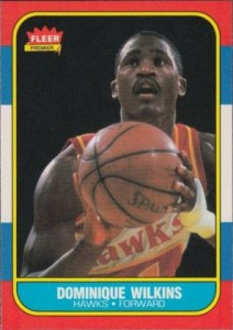 1986-87 Fleer Dominique Wilkins