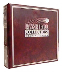binder for basketball cards