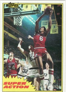 1981-82 Julius Erving E104