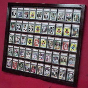 trading card display case graded cards